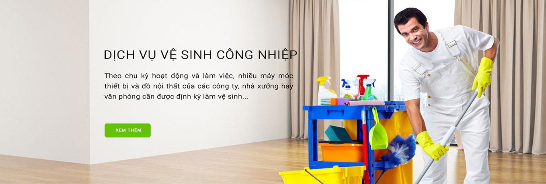 Vệ sinh công nghiệp Hồ Chí Minh